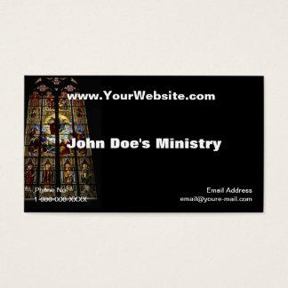 Cartão de visita de Windows da igreja