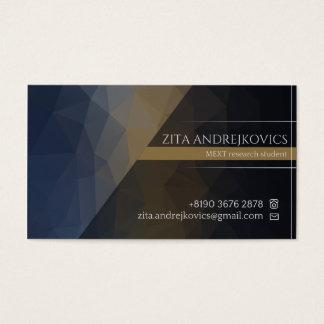 Cartão de visita de Zita
