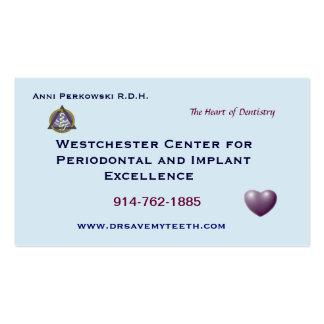 Cartão de visita dental