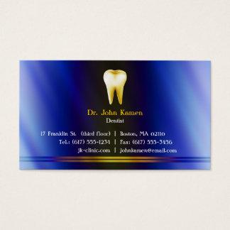 Cartão de visita dental elegante