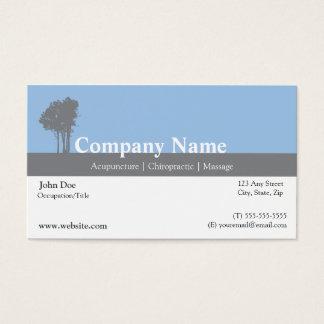 Cartão de visita do Acupuncturist