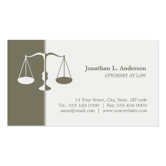 Cartão de visita do advogado advogado