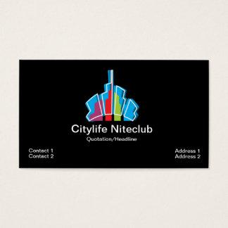 Cartão de visita do arranha-céus