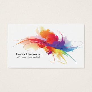 Cartão de visita do artista