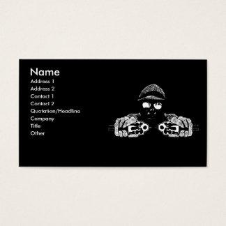 Cartão de visita do atirador
