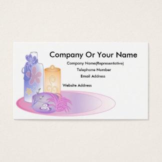 Cartão de visita do banho & da beleza #3