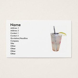 Cartão de visita do barman