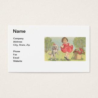 Cartão de visita do boutique das crianças