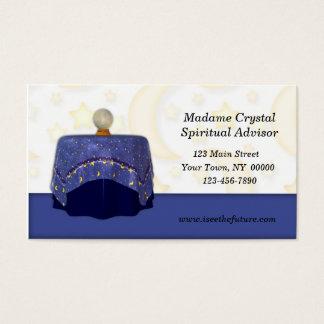 Cartão de visita do caixa de fortuna
