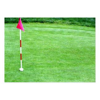 Cartão de visita do campo de golfe