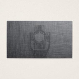 Cartão de visita do cinza da chave do mecânico &