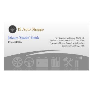 Cartão de visita do cinza dos ícones do serviço do