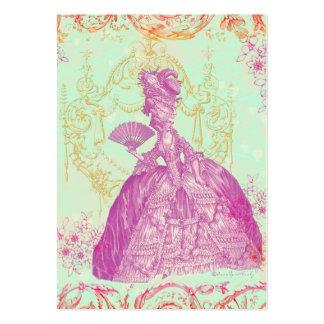 Cartão de visita do costume de Pot-pourri de Marie