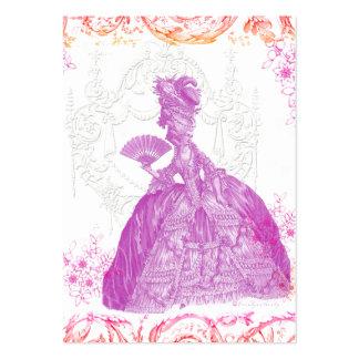 Cartão de visita do costume do pot-pourri de Marie