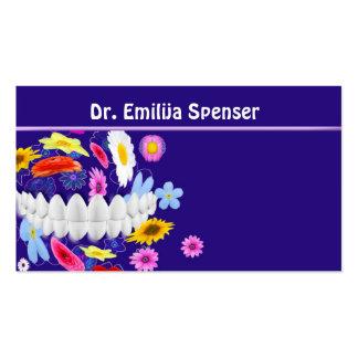Cartão de visita do dentista