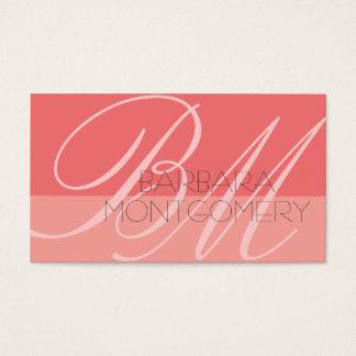 Cartão de visita do desenhador de moda do