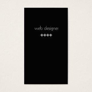 Cartão de visita do DESENHISTA da WEB