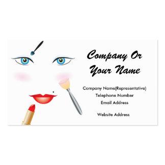 Cartão de visita do design 2 da beleza #6
