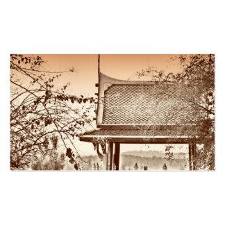 Cartão de visita do design do chinês