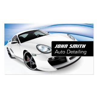 Cartão de visita do detalhe/lavagem de carros do a
