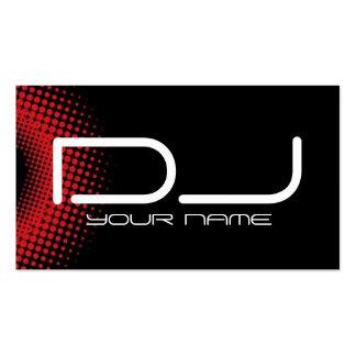 Cartão de visita do DJ