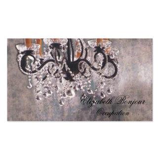 Cartão de visita do ~ do candelabro de Park Avenue