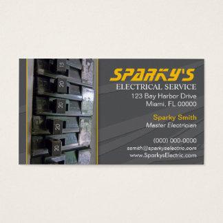 Cartão de visita do eletricista