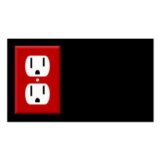 Cartão de visita do eletricista 4