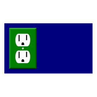 Cartão de visita do eletricista 6