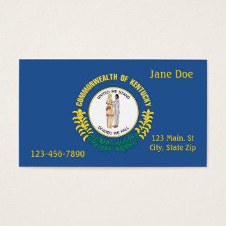 Cartão de visita do estado de Kentucky