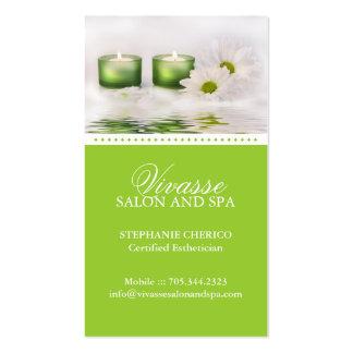 Cartão de visita para massagista.