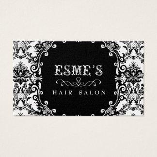 Cartão de visita do estilista do cabeleireiro do