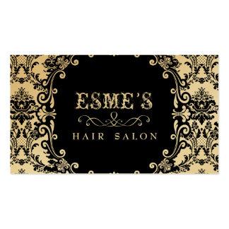 Cartão de visita do estilista do cabeleireiro do d
