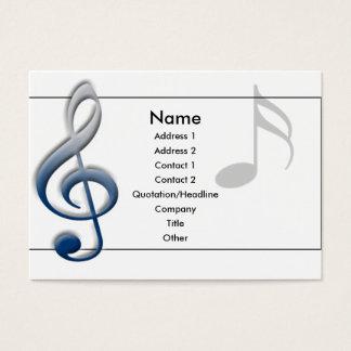 cartão de visita do G-cleft