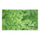 Cartão de visita do jardineiro