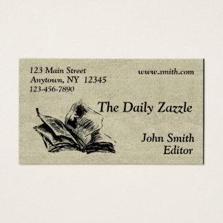 Cartão de visita do jornal