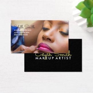Cartão de visita do maquilhador