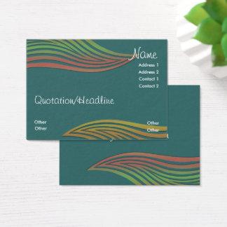 Cartão de visita do negócio de Waveys