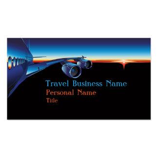 Cartão de visita do negócio do viagem