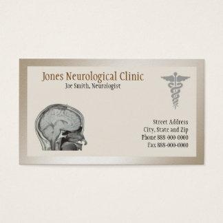 Cartão de visita do neurologista