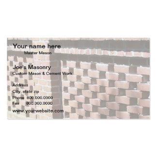 Cartão de visita do pedreiro