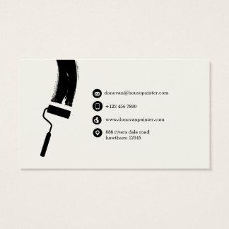 cartão de visita do pintor de casa/pintor