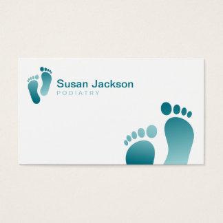 Cartão de visita do Podiatrist