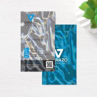 Cartão de visita do profissional do designer