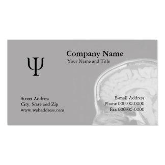 Cartões de visita para psicólogos na Zazzle