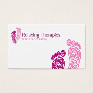 Cartão de visita do Reflexology