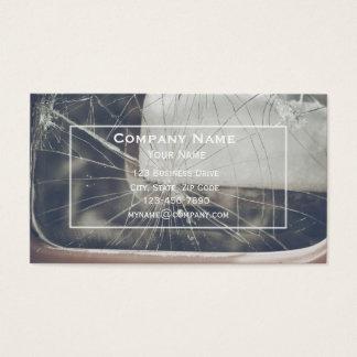 Cartão de visita do reparo do pára-brisa