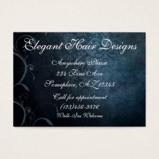Cartão de visita do salão de beleza do estilo do
