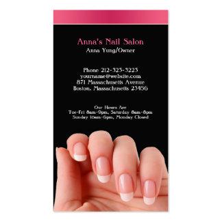 Cartão de visita do salão de beleza w/Appointment