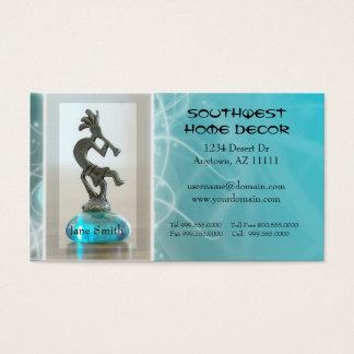 Cartão de visita do sudoeste do design